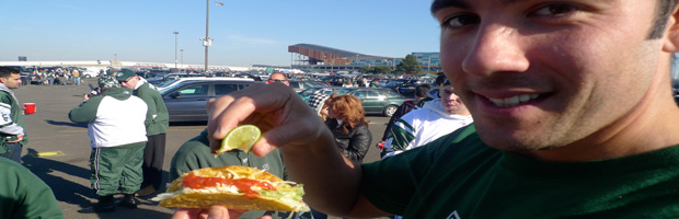 jets panthers nfl tailgate party