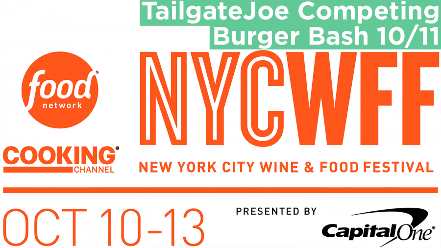 TailgateJoe in burger bash at Food Network NYC Wine & Food Festival